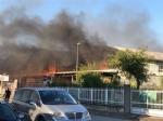 NICHELINO - Grave incendio nel capannone di due aziende: intervento dei vigili del fuoco - FOTO - immagine 3