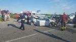 CARMAGNOLA - Ancora un terribile schianto sulla provinciale 393: tre feriti e traffico in tilt - immagine 3