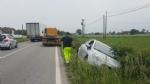 CARIGNANO - Due spettacolari incidenti provocano code sulle strade della provincia - immagine 3