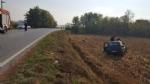 CARMAGNOLA - Esce di strada e finisce in un campo. Automobilista ricoverata al Cto - immagine 3