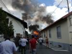 BEINASCO - Incendio nel deposito di unimpresa di costruzioni a Borgaretto: tanta paura, ma nessun ferito - immagine 3
