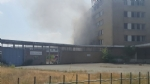 NICHELINO - Viberti ancora in fiamme: bruciano masserizie e rifiuti abbandonati  - FOTO - immagine 3