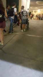 Paura in Piazza San Carlo durante la partita: cede una ringhiera, diversi i feriti. - immagine 4