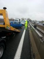 RIVALTA - Raffica di incidenti in tangenziale: 5 automobilisti in ospedale - LE FOTO - immagine 3