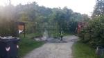 VINOVO - Raid vandalico sulle sponde del Chisola: incendiati due cassonetti - immagine 3