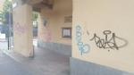 NICHELINO - Vandalizzato larco di via Stupinigi, restaurato dai volontari - immagine 4