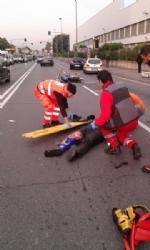 BEINASCO - Gravi incidenti a Borgaretto e borgo Melano: due motociclisti feriti - immagine 4