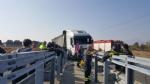 CANDIOLO - Grave incidente sullautostrada Torino-Pinerolo, camionista in condizioni critiche - LE FOTO - - immagine 5