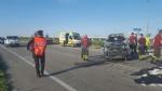 CARMAGNOLA - Ancora un terribile schianto sulla provinciale 393: tre feriti e traffico in tilt - immagine 4