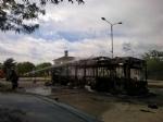VIRLE - A fuoco un autobus, paura nella zona industriale SantAntonio - immagine 4