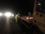 MONCALIERI - Non vede il carrello mobile dei lavori in corso e si schianta in tangenziale - LE FOTO - - immagine 4