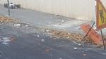 NICHELINO - Crolla un cornicione delledificio ex Granato Mobili: transennata la via - immagine 4