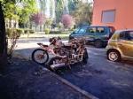 BEINASCO - Un incendio nella notte distrugge tre auto e due moto in via Aldo Moro - LE FOTO - - immagine 4