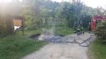 VINOVO - Raid vandalico sulle sponde del Chisola: incendiati due cassonetti - immagine 4