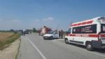 CARMAGNOLA - Doppio schianto sulla famigerata 393: due turisti tedeschi in ospedale - immagine 4