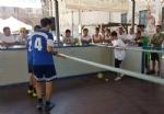 CARIGNANO - Tutti pazzi per il calciobalilla umano sotto lala di via Savoia - immagine 5