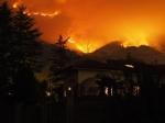 CINTURA SUD - Il fumo degli incendi arriva in pianura. LArpa: «Possono aumentare concentrazioni di Pm10» - immagine 5