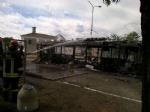 VIRLE - A fuoco un autobus, paura nella zona industriale SantAntonio - immagine 6