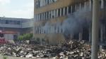 NICHELINO - Viberti ancora in fiamme: bruciano masserizie e rifiuti abbandonati  - FOTO - immagine 7