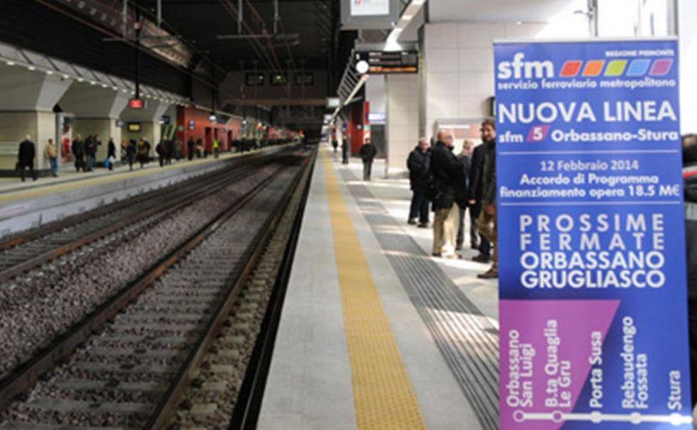 ORBASSANO - Ferrovia metropolitana 5, Maccanti: 'I soldi sono stati bloccati dal governo'