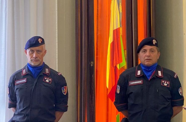 MONCALIERI - Cambio della guardia al Reggimento Carabinieri Piemonte