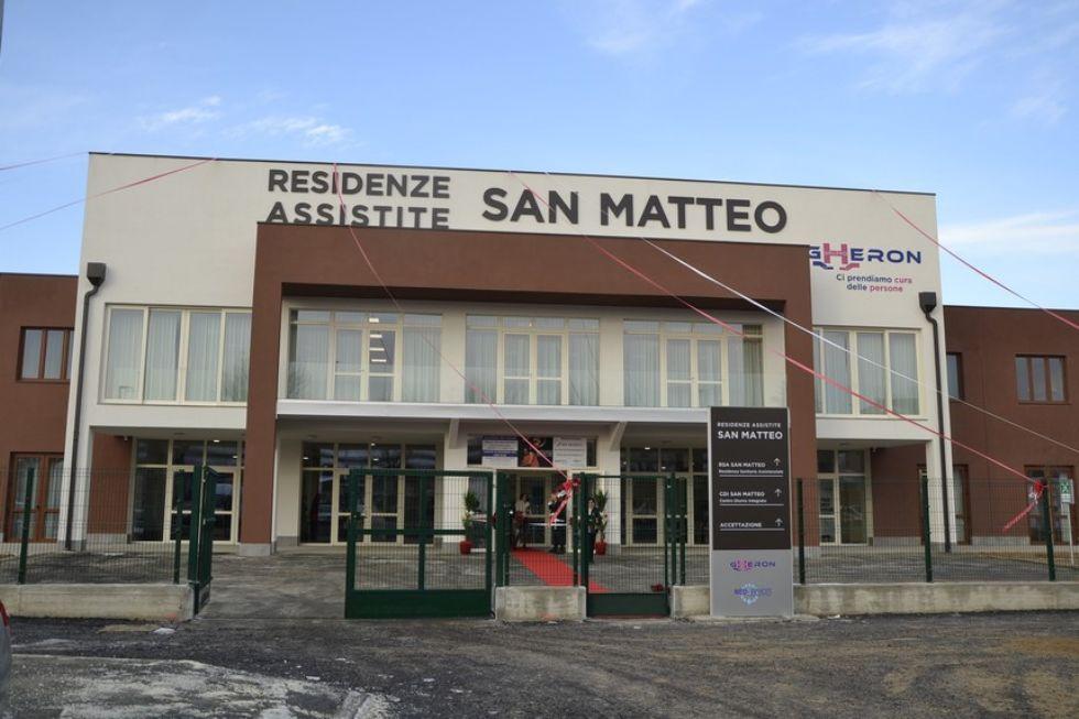 NICHELINO - Tamponi fatti alla casa di riposo San Matteo sia agli ospiti che al personale