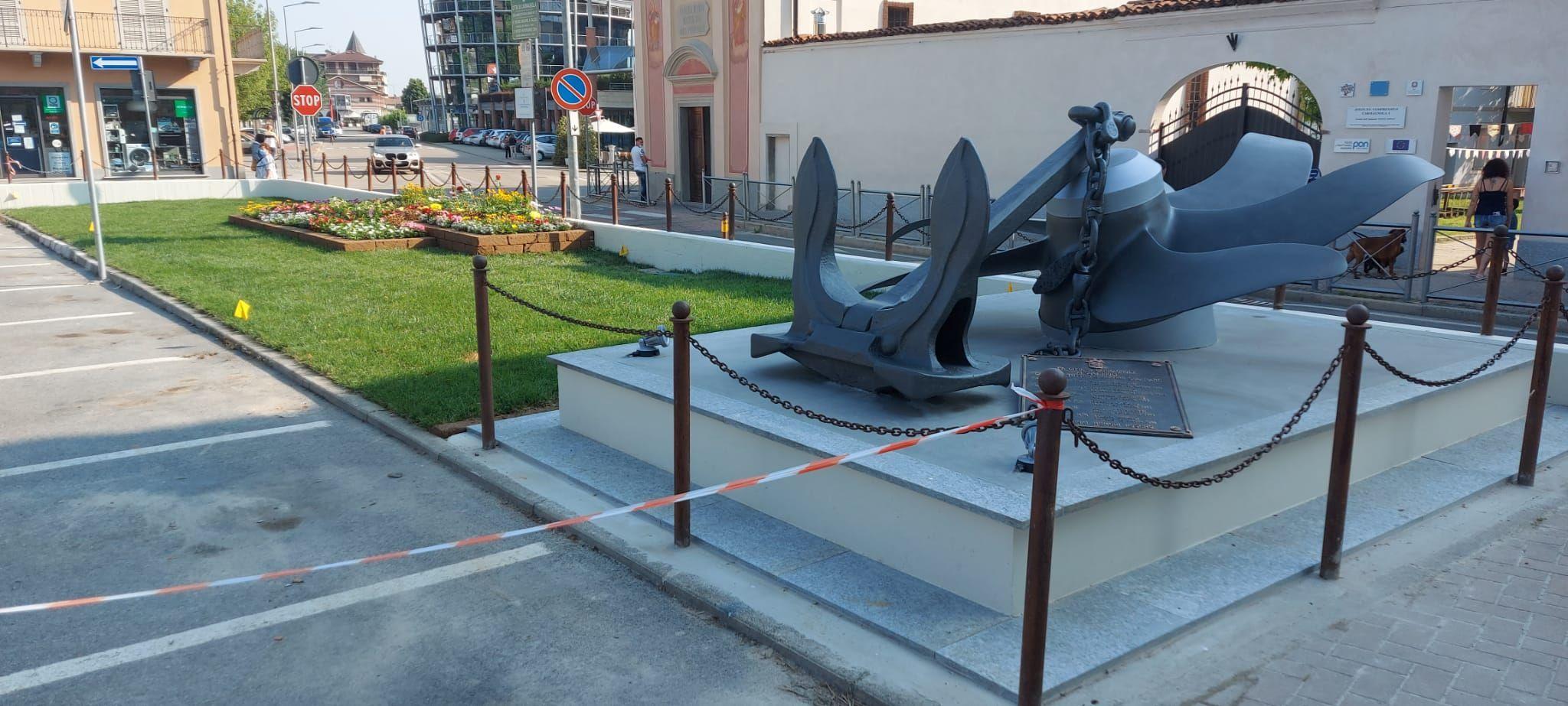 CARMAGNOLA - Concluso il restyling di piazza Mazzini