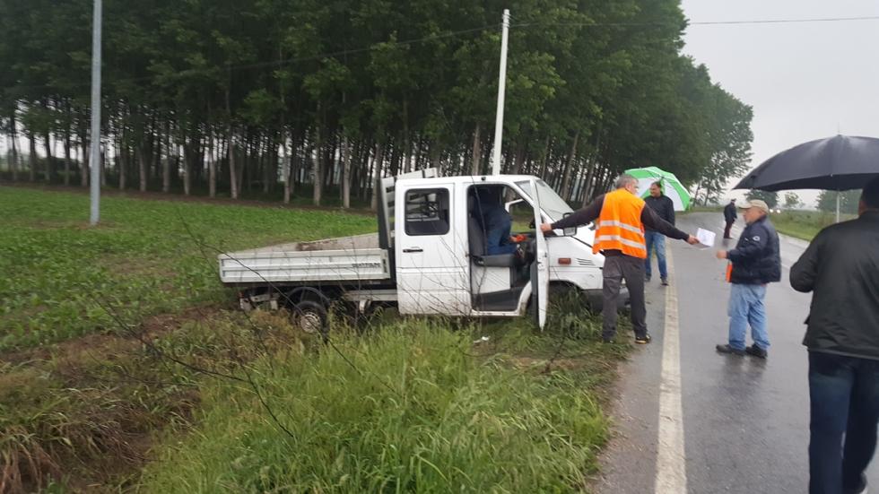 VIRLE - Grave incidente sulla provinciale 138 per Cercenasco
