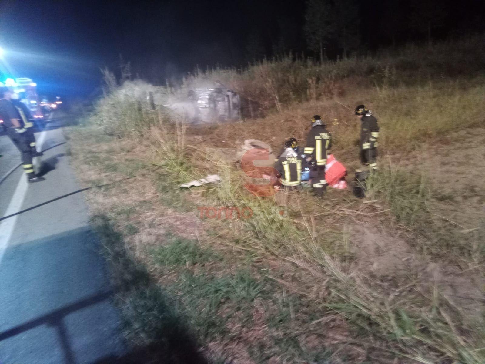 CARIGNANO - Grave incidente sulla provinciale 20: giovane al Cto