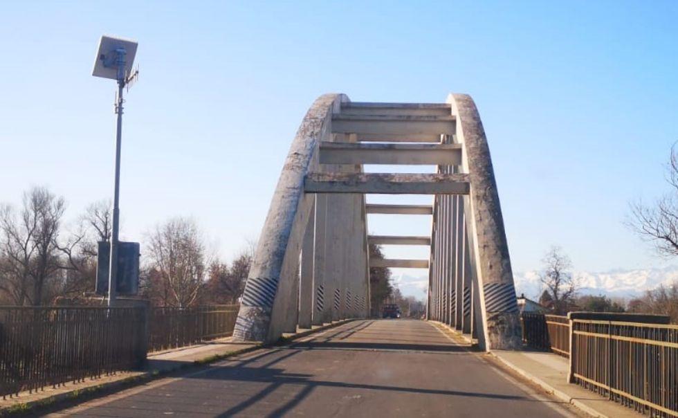 CARIGNANO - Città Metropolitana pianifica controlli di sicurezza sul ponte del Po