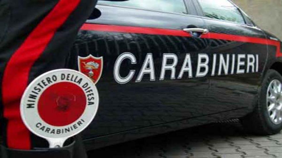CARIGNANO - Ritrovata auto bruciata lungo la provinciale: era rubata