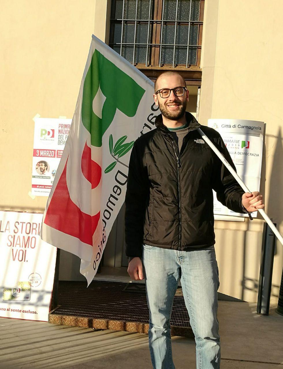 BONUS PARTITE IVA - Il segretario Pd di Carmagnola sul caso-Sarno: 'Sconforto, rabbia e delusione'