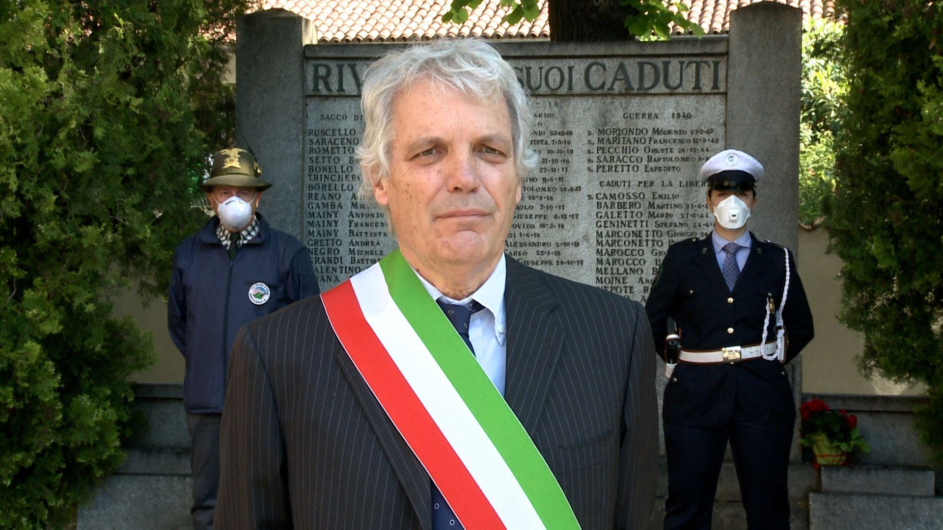 RIVALTA - Il cordoglio della città per la morte del sindaco De Ruggiero