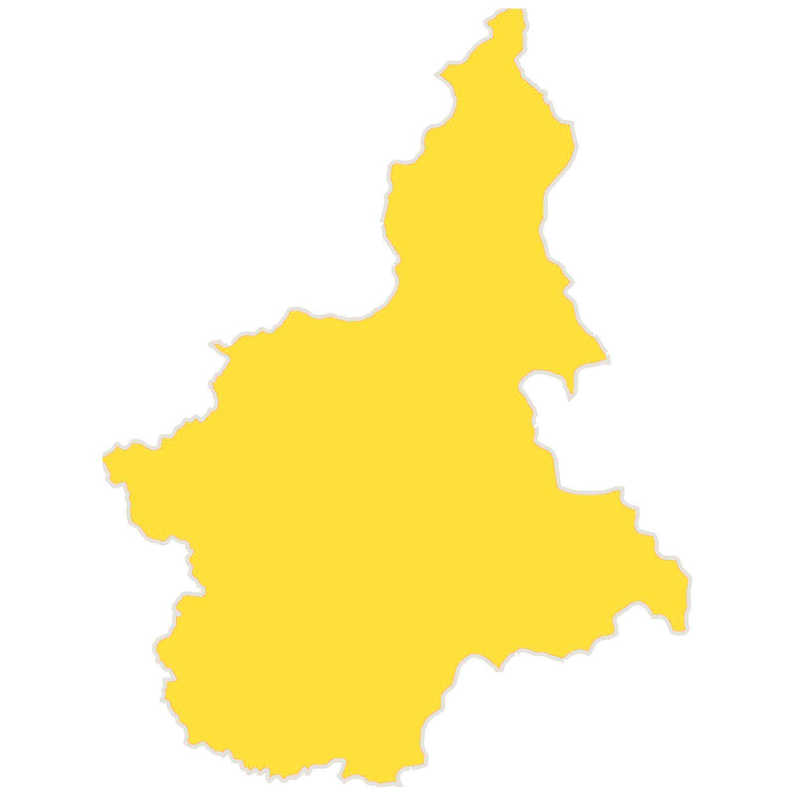 COVID - Il Piemonte resta in zona gialla per un'altra settimana: la pressione ospedaliera scende