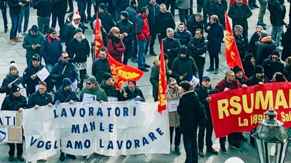 LA LOGGIA - Crisi Mahle, 220 lavoratori a rischio: «Indispensabile portare la vertenza all'attenzione dell'Europa»