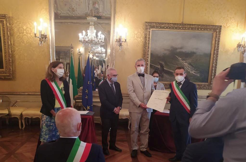 CANDIOLO - Paolo Palatini dell'Avas riceve l'Ordine al Merito della Repubblica Italiana