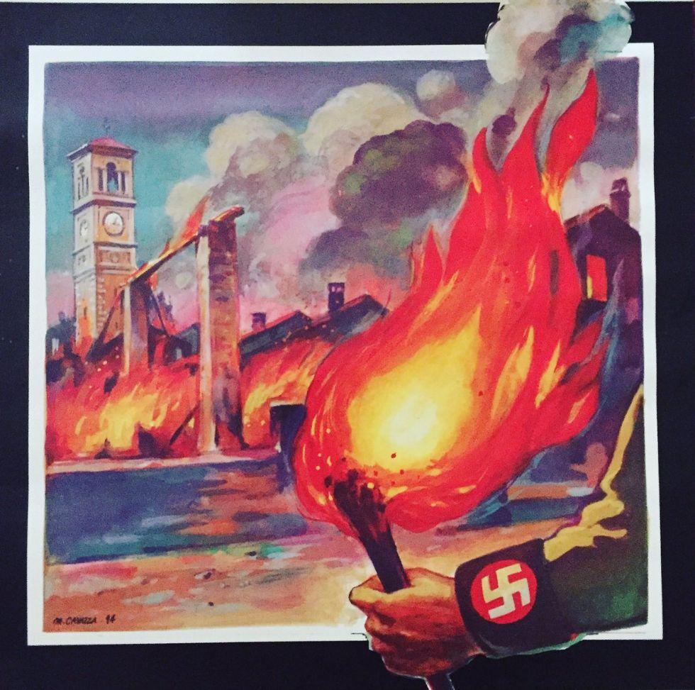 CARMAGNOLA - Salsasio ricorda l'incendio nazifascista del 25 luglio 1944