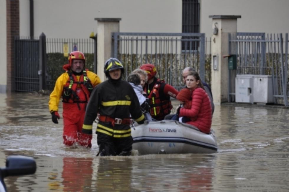 MONCALIERI - Arrivano i primi rimborsi per l'alluvione. Il sindaco Montagna: «Buona notizia, ma l'emergenza non è finita»