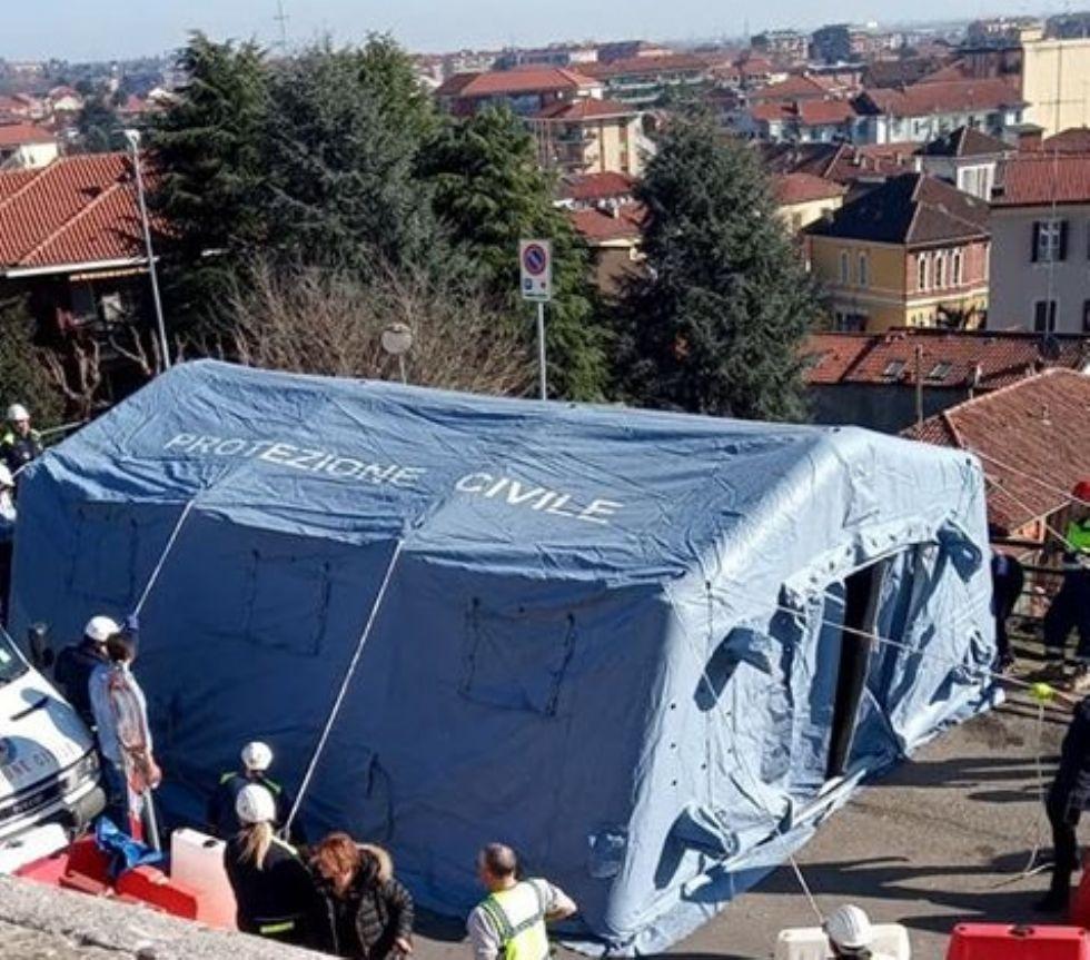 MONCALIERI - Il virus svuota anche il pronto soccorso del Santa Croce: 14 ingressi odierni
