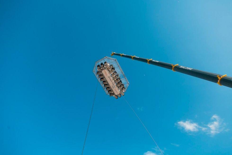CARMAGNOLA - Annullata dallo Spresal la cena a 50 metri di altezza