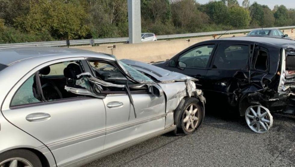 NICHELINO - Incidente in tangenziale, altezza Debouchè: un ferito