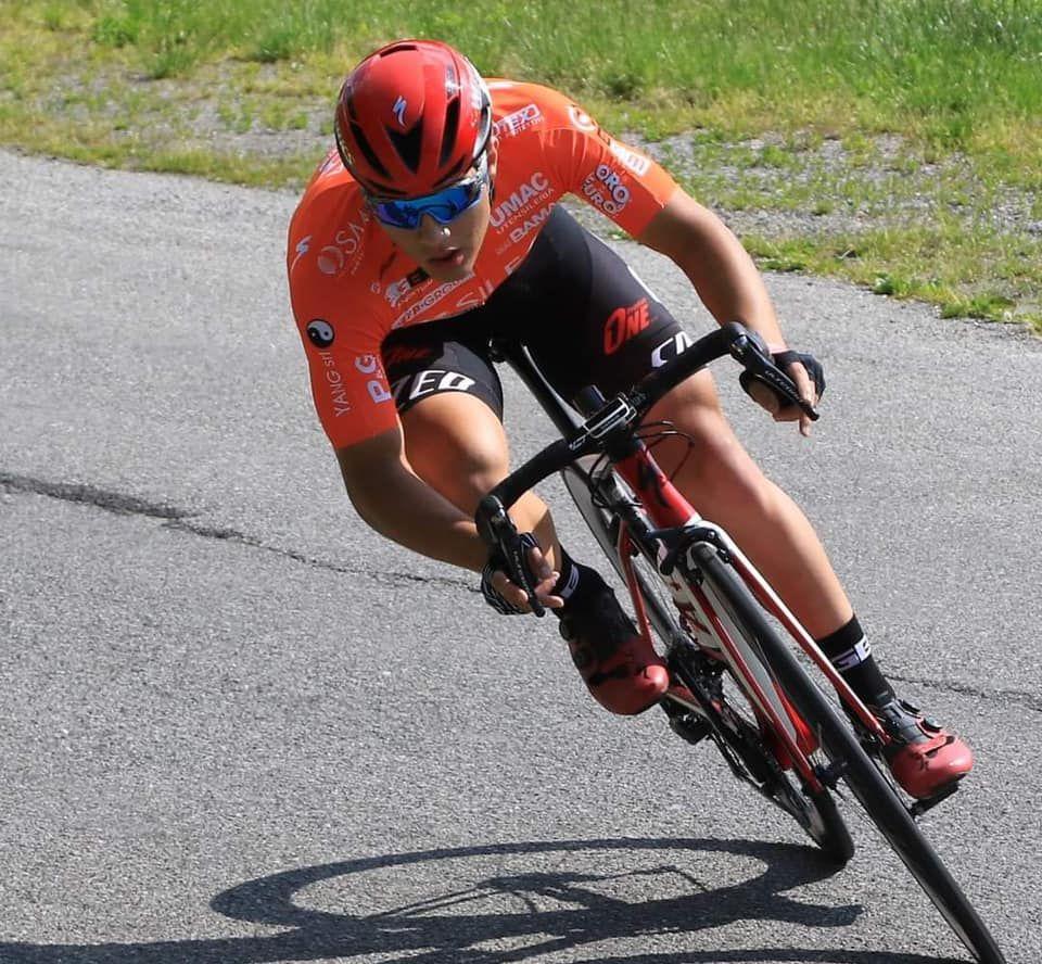 CANDIOLO - Stefano Minuta ha vinto il campionato italiano in pista che si è svolto a Pordenone