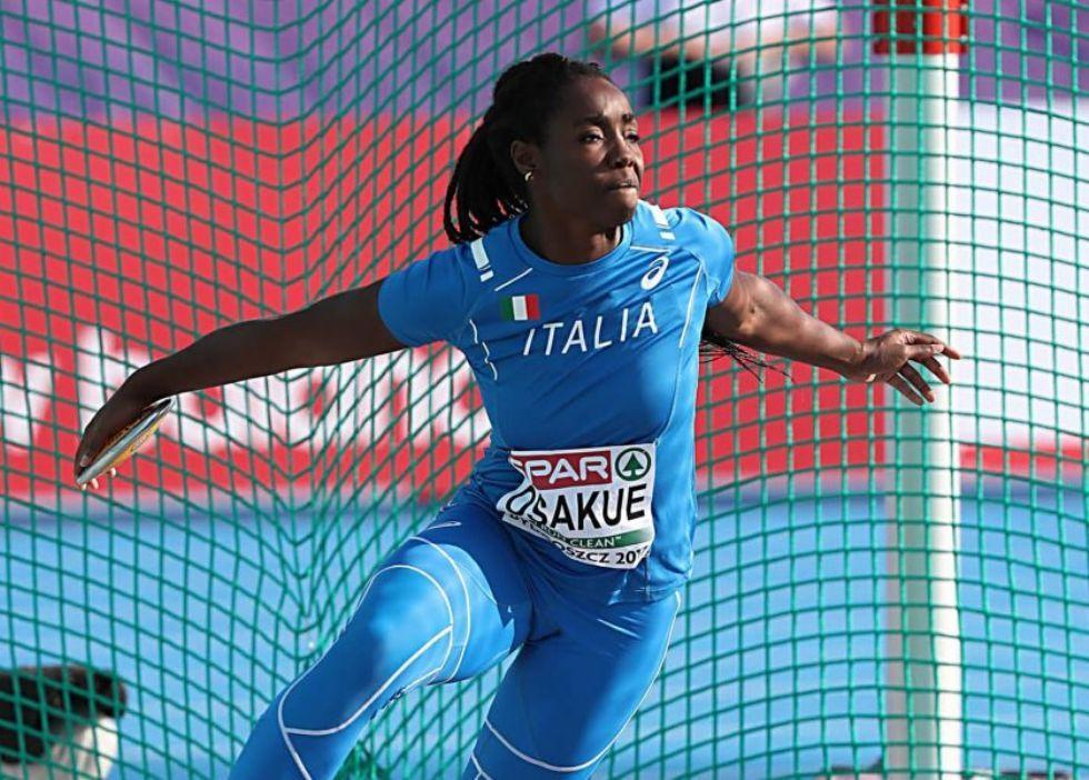 MONCALIERI - Record italiano e finale olimpica per la discobola Daisy Osakue