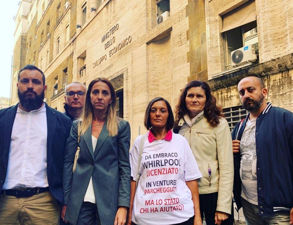 NICHELINO - Ex Embraco, l'assessore Verzola al tavolo di confronto del Ministero