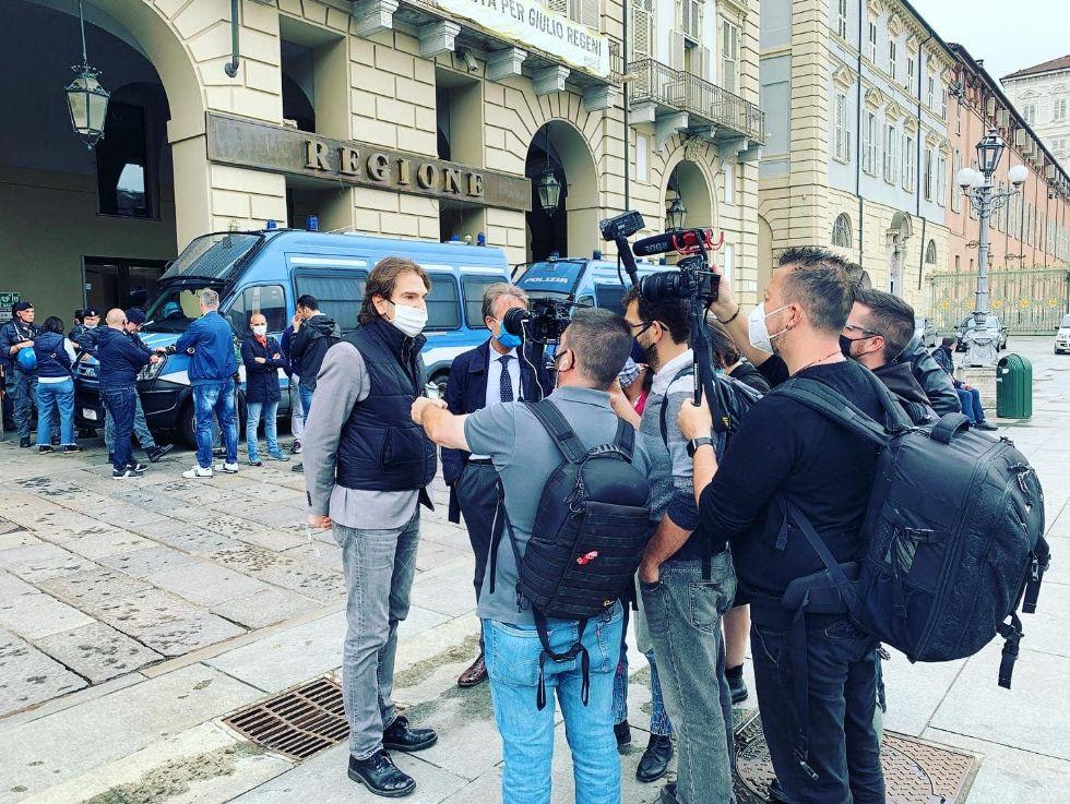 LAVORO - Sindaco e assessore di Nichelino a fianco degli operai dell'ex Embraco
