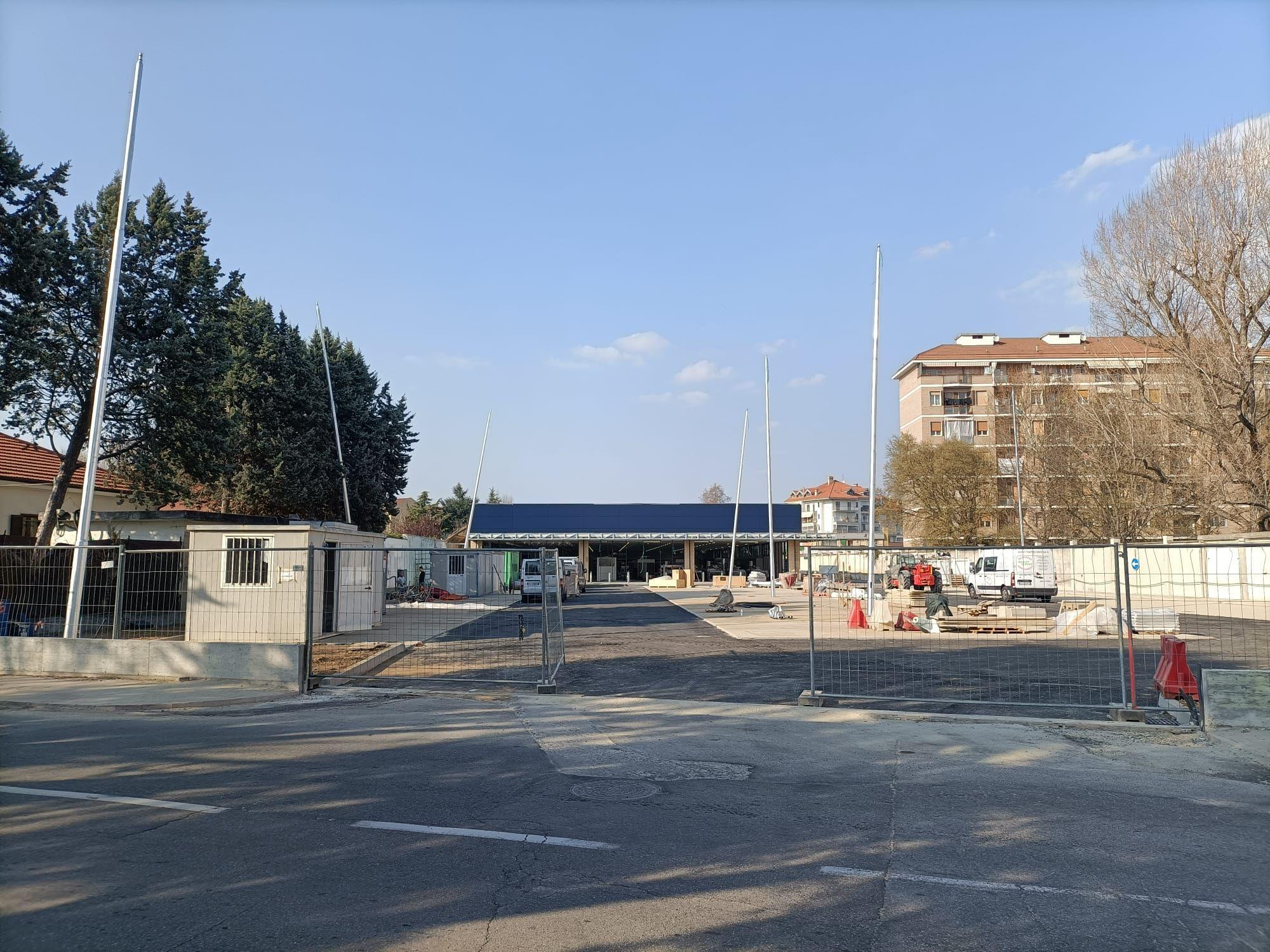 NICHELINO - Conto alla rovescia per l'apertura del nuovo Eurospin