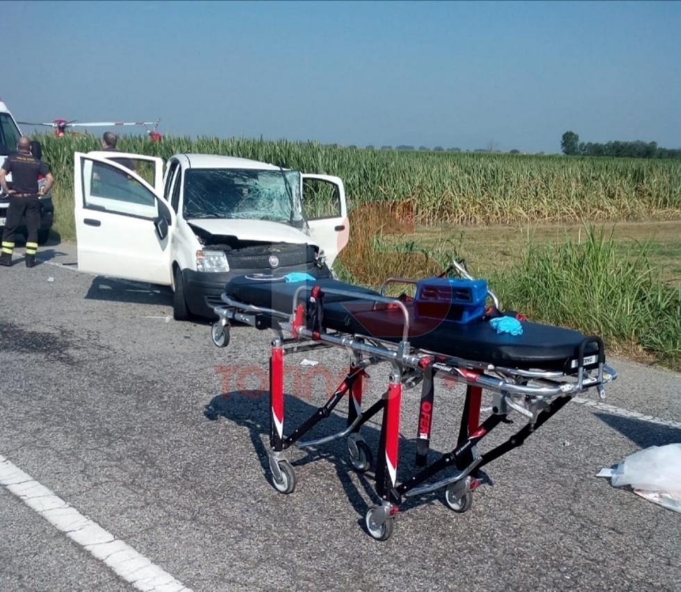 CARIGNANO - Brutto incidente sulla provinciale: tre feriti, uno è grave - FOTO