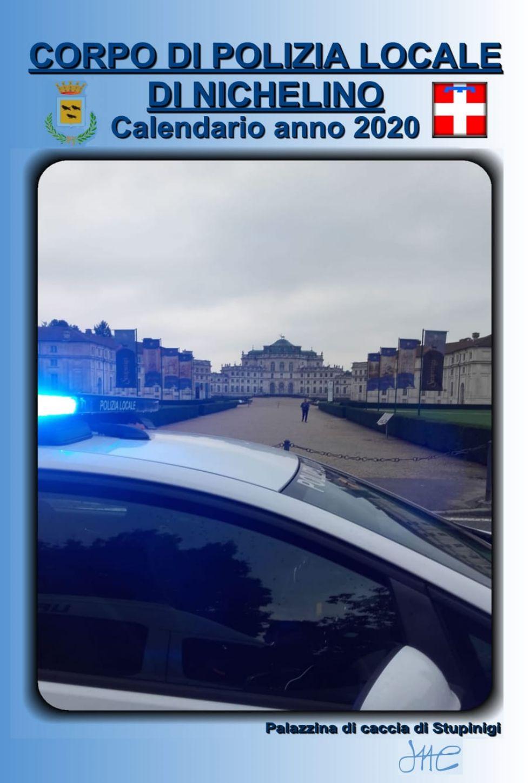 NICHELINO - Il calendario della polizia locale per i bambini ricoverati al Regina Margherita