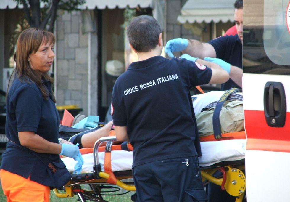 CARMAGNOLA - Ciclista investito da un'auto: è grave al Santa Croce di Moncalieri