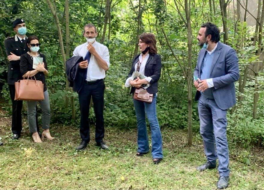 MONCALIERI - Il parco del Castello ha aperto i cancelli